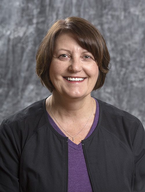 Julie Schmidt, RN, an ACLS certified coronary care nurse for cardiac care.